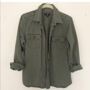 Ralph Lauren Polo Army Green button up